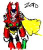 Zero scribble