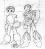 Mega Man and Protoman