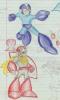 Protoman and Mega Man
