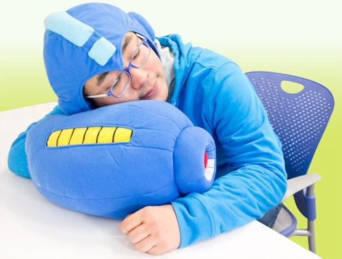 Sleeping MegaBuster